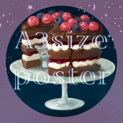 posterケーキ