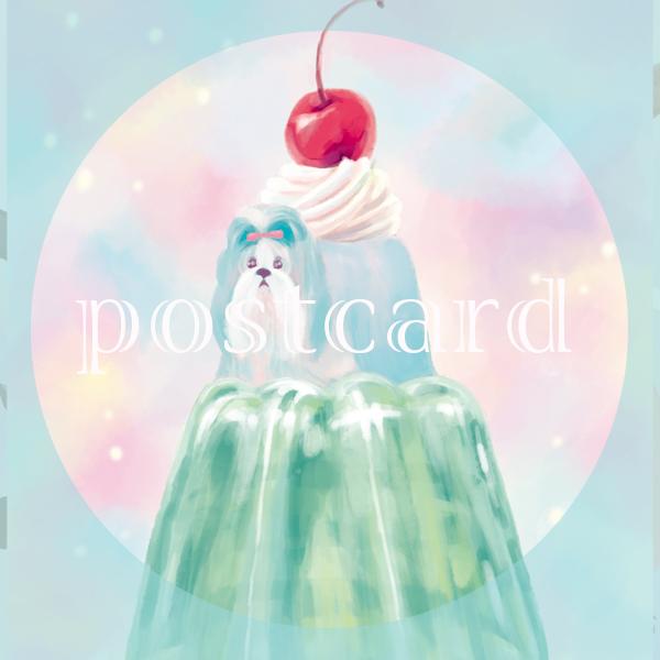 postcardゼリー