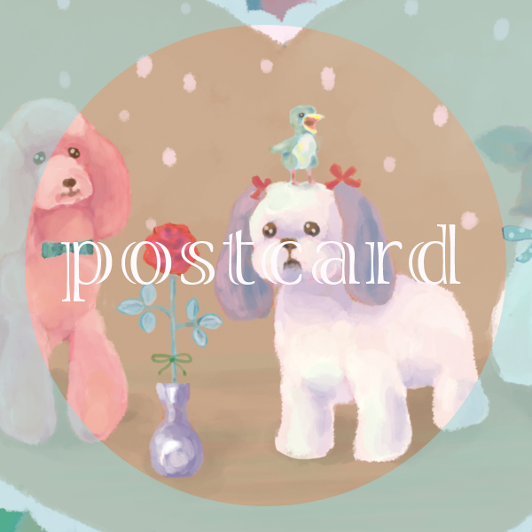 postcardいぬne